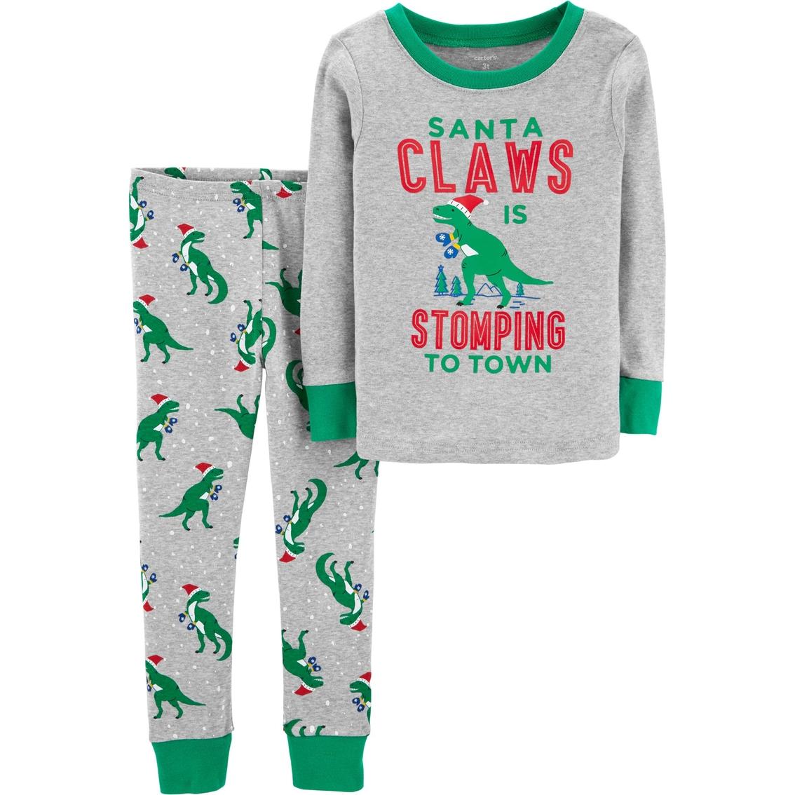 Carter s Toddler Boys Santa Claws 2 Pc. Pajama Set  6af16bacf