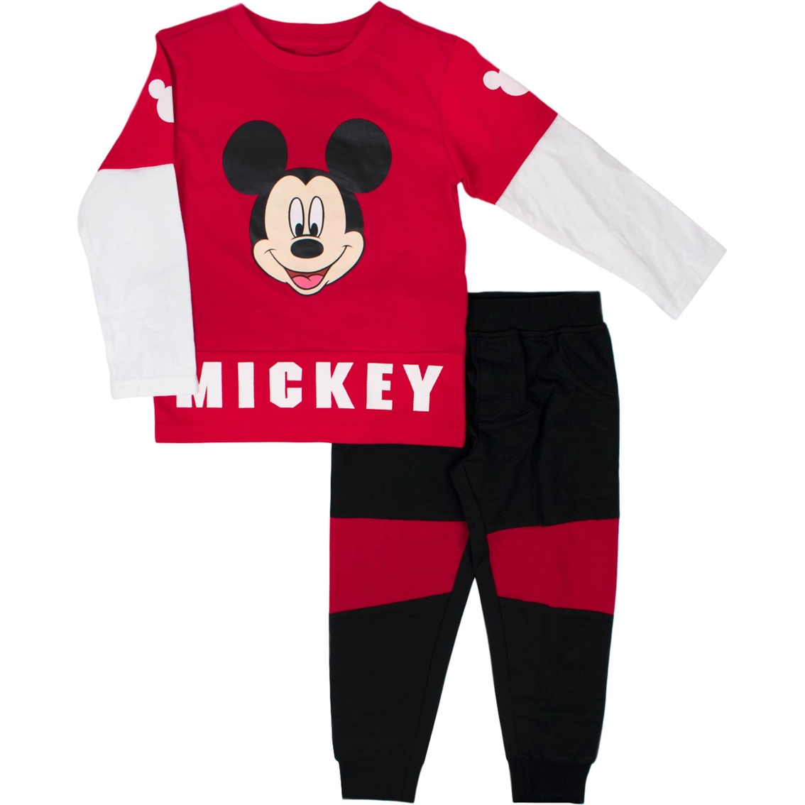 4dbd8a29e Disney Toddler Boys Mickey Mouse 2 Pc. Shirt And Pants Set | Toddler ...