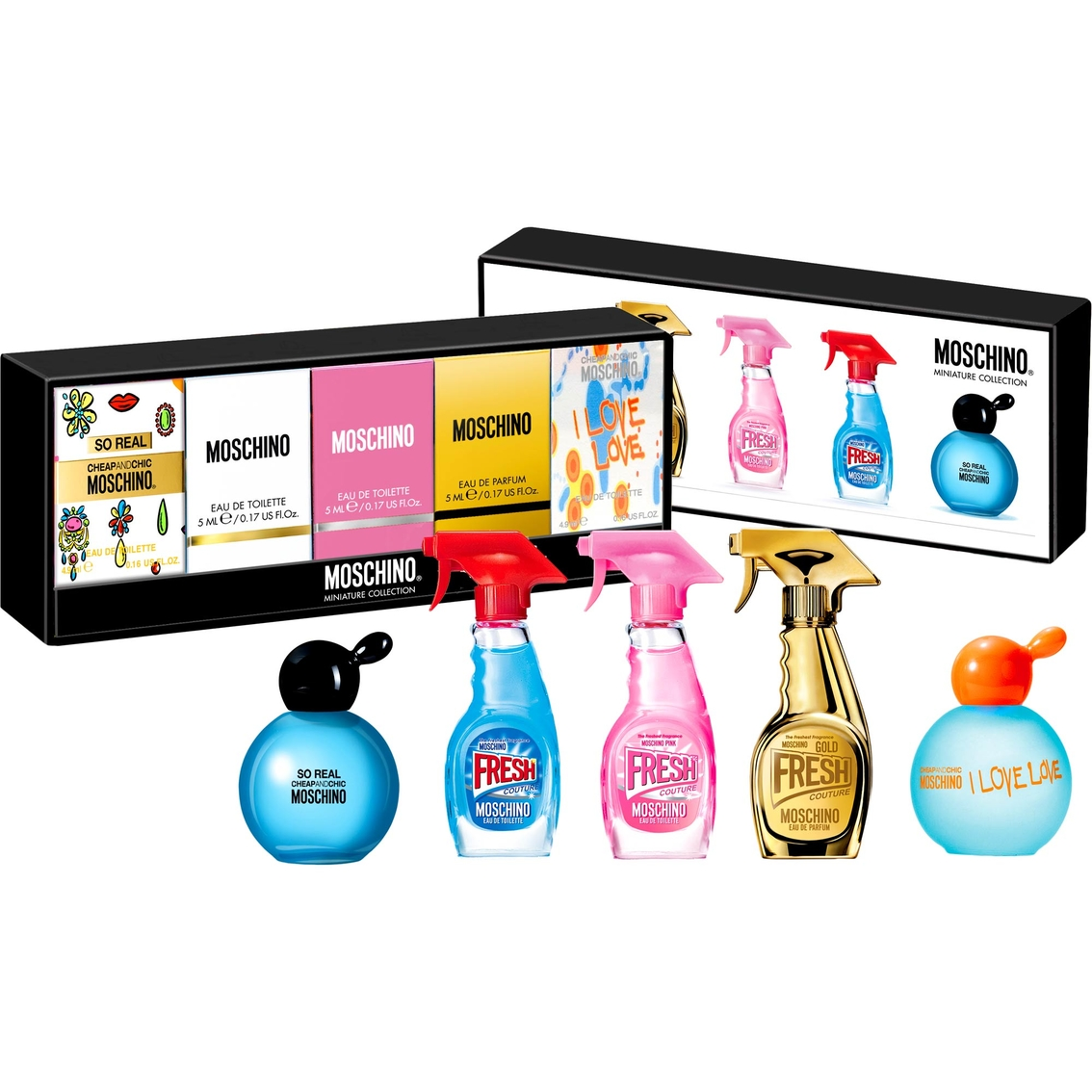 7baf5454faf Moschino Deluxe Mini Coffret | Gifts Sets For Her | Beauty & Health ...