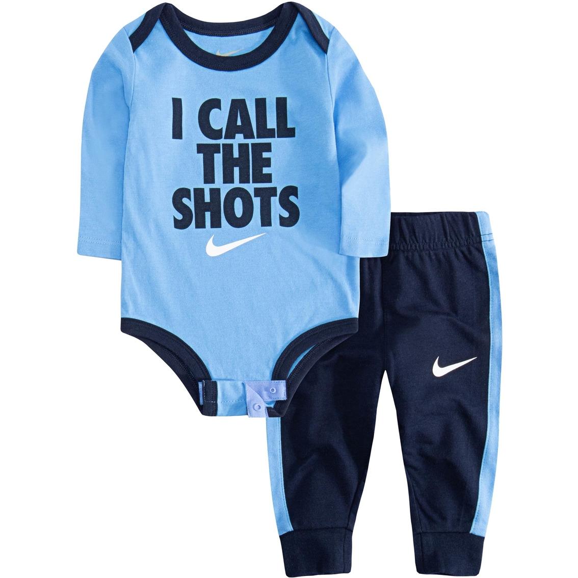 82025d323d Nike Infant Boys I Call The Shots Bodysuit With Pants Set | Baby Boy ...