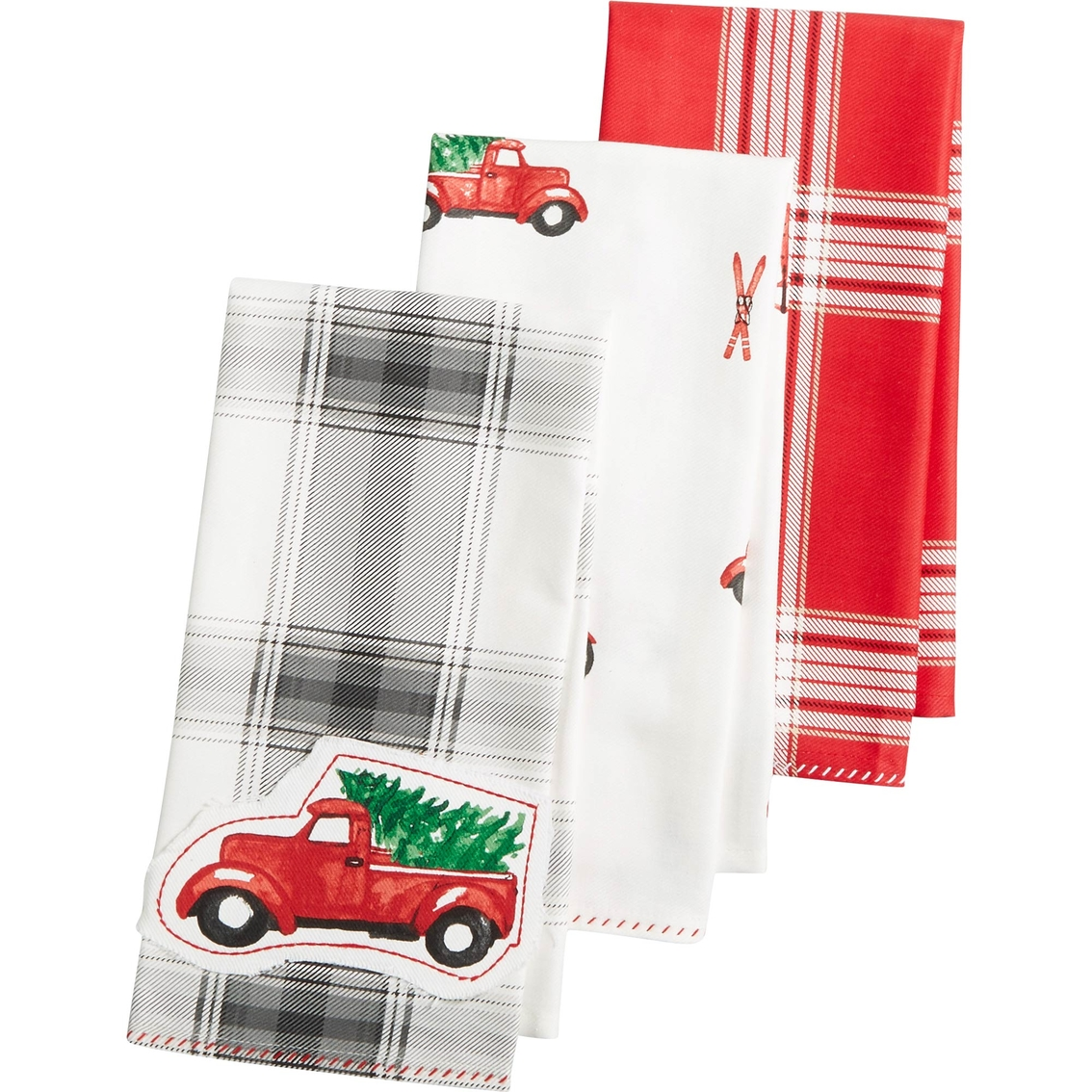 Martha Stewart Kitchen Towels: Martha Stewart Collection 3 Pc. Holiday Kitchen Towel Set
