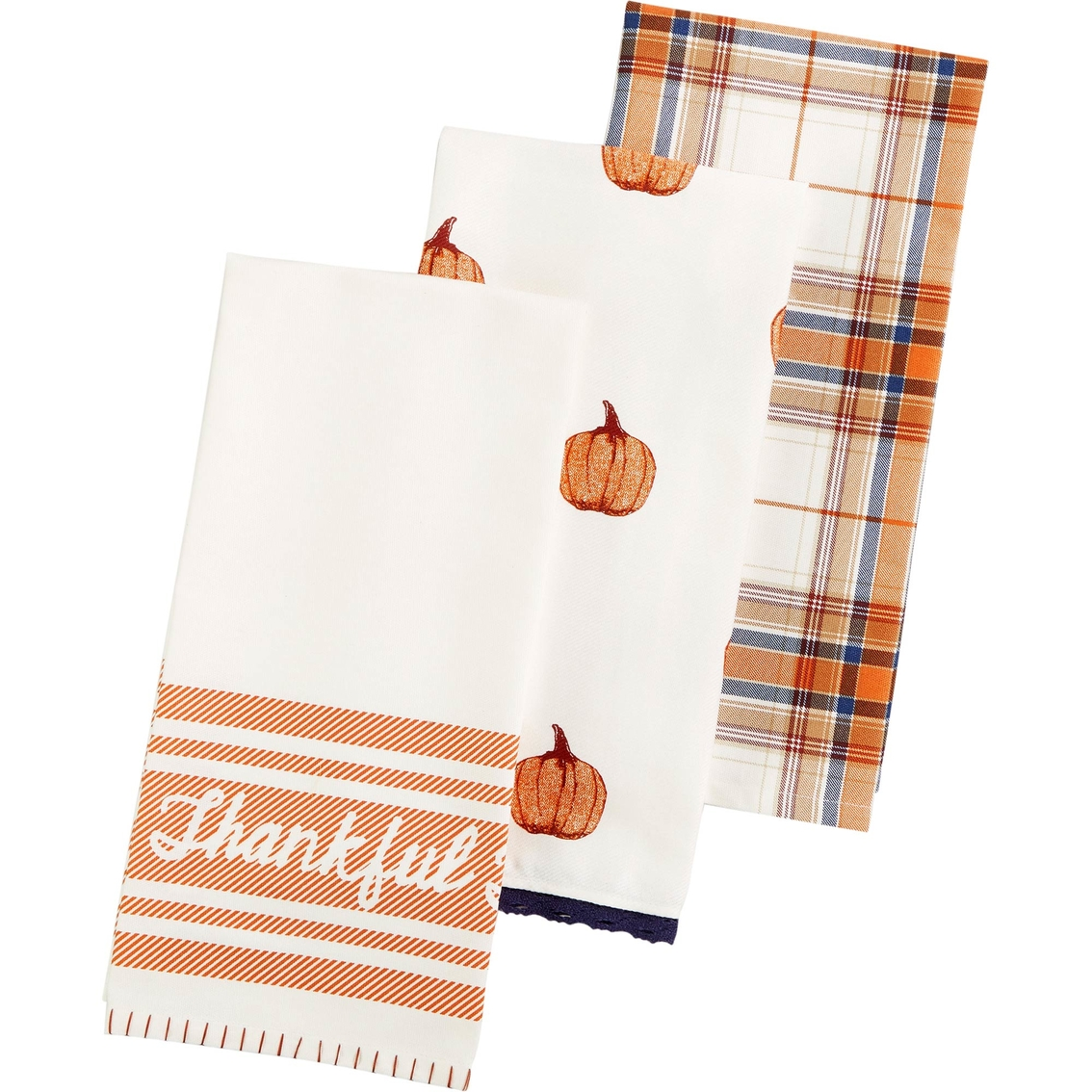 Martha Stewart Collection 3 Pc. Harvest Kitchen Towel Set ...