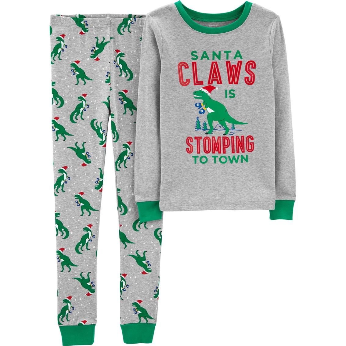 20f3535bc Carters Little Boys Santa Claws 2 Pc. Pajamas Set