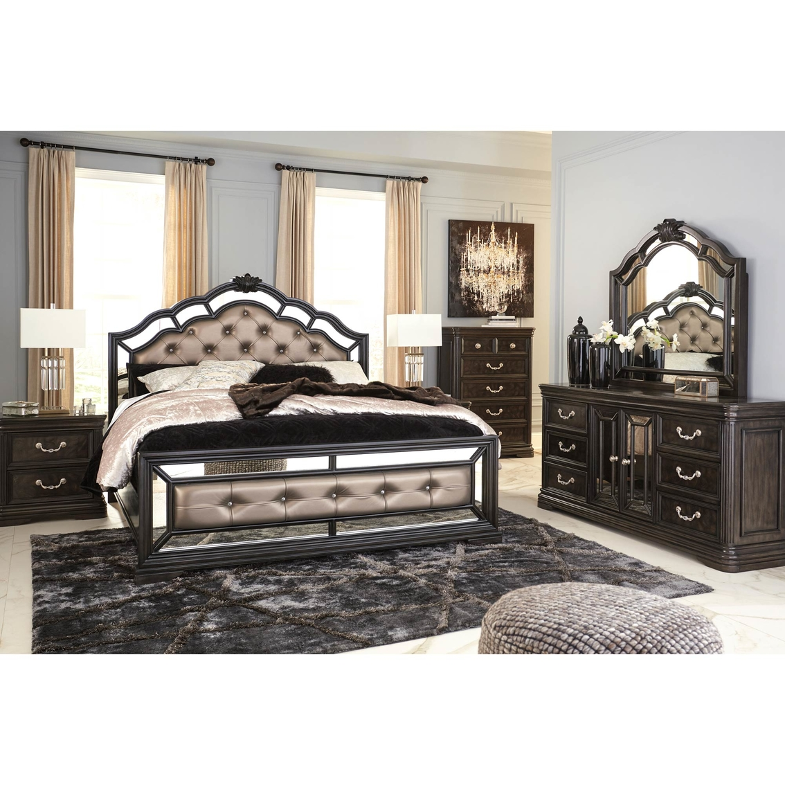 Signature Design By Ashley Quinshire 5 Pc. Bedroom Set