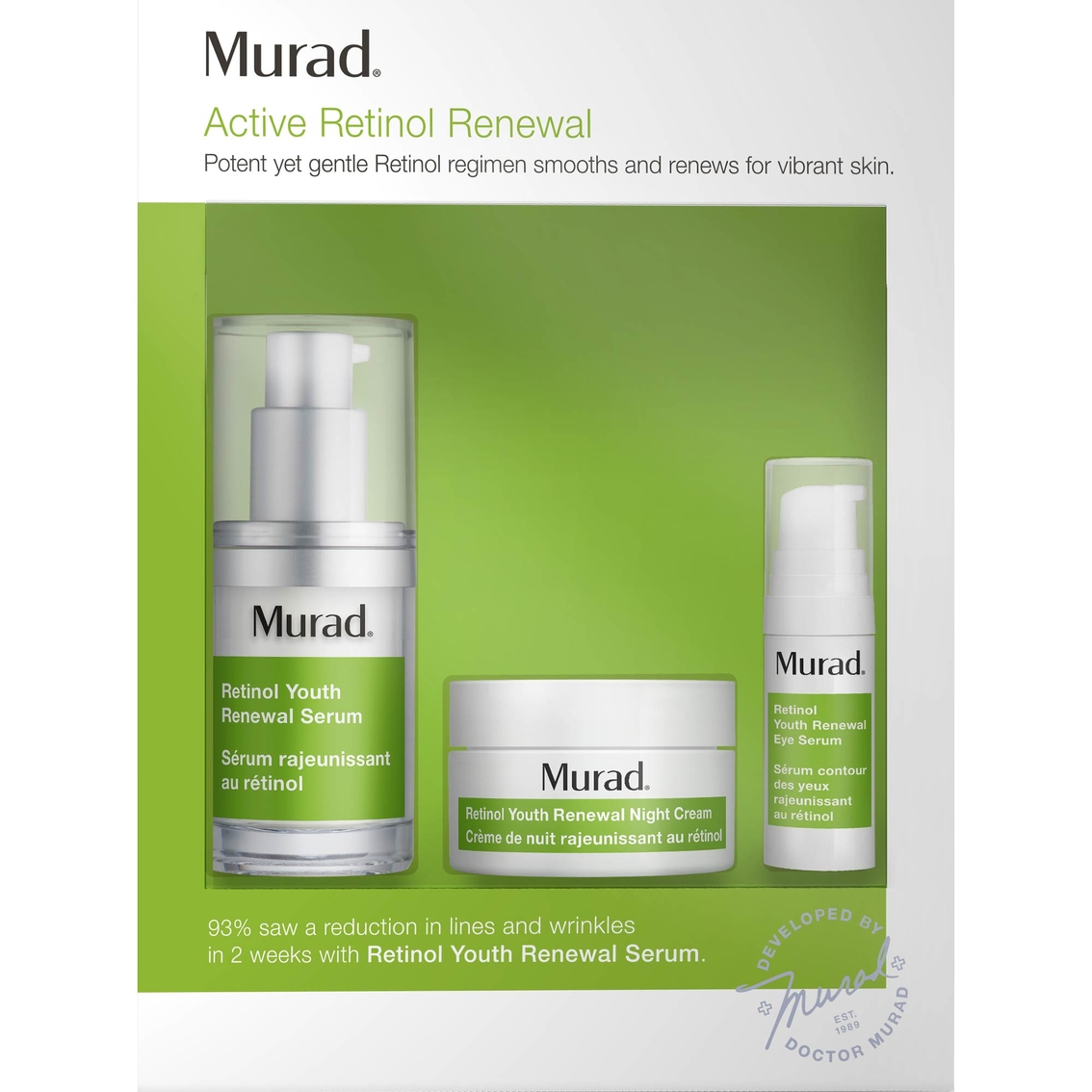 Murad Active Retinol Renewal Kit | Anti-aging Treatment