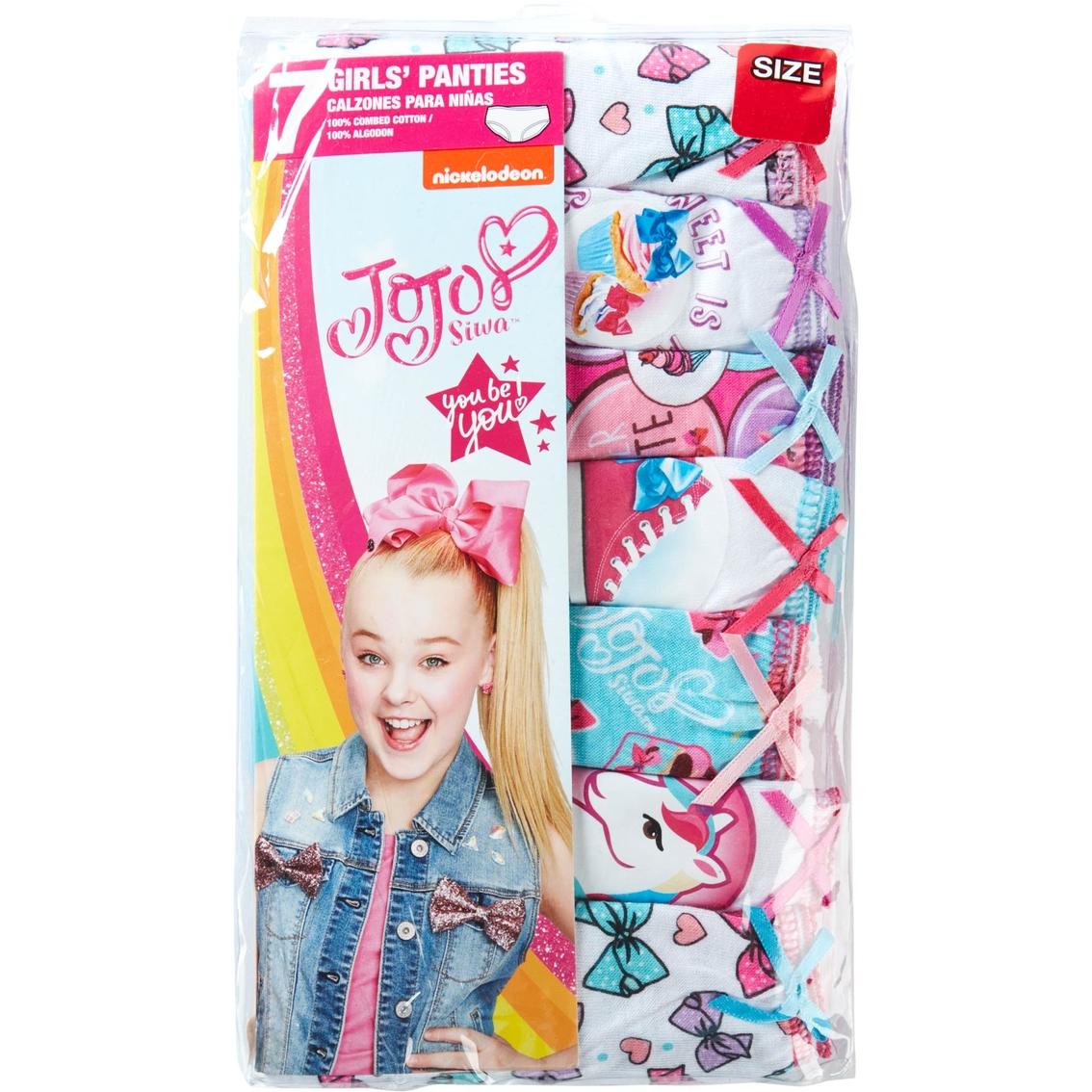 c0d1a4551ae Jojo Siwa Little Girls Underwear 7 Pk.