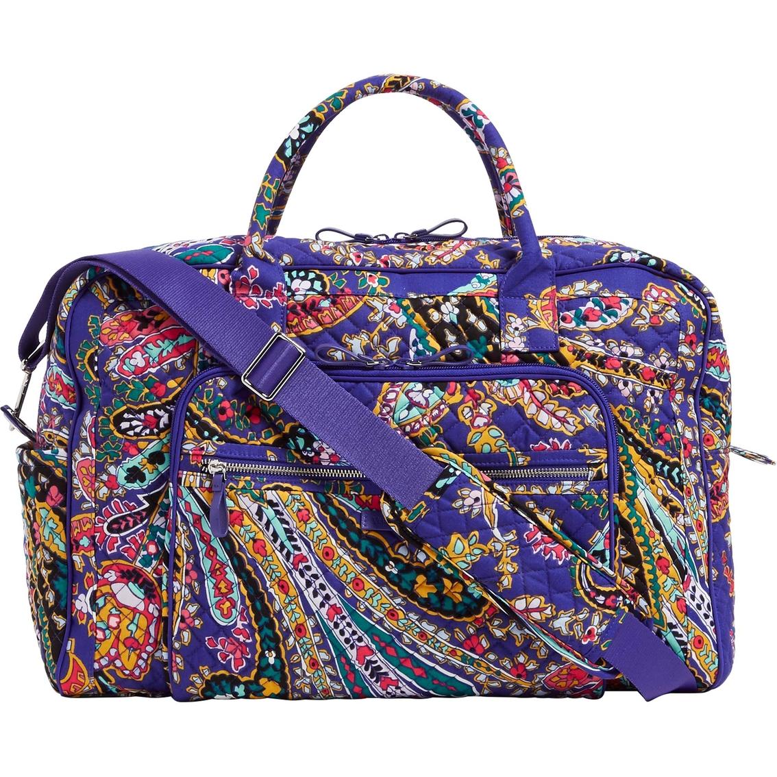 Vera Bradley Iconic Weekender Travel Bag a2e37e021e974