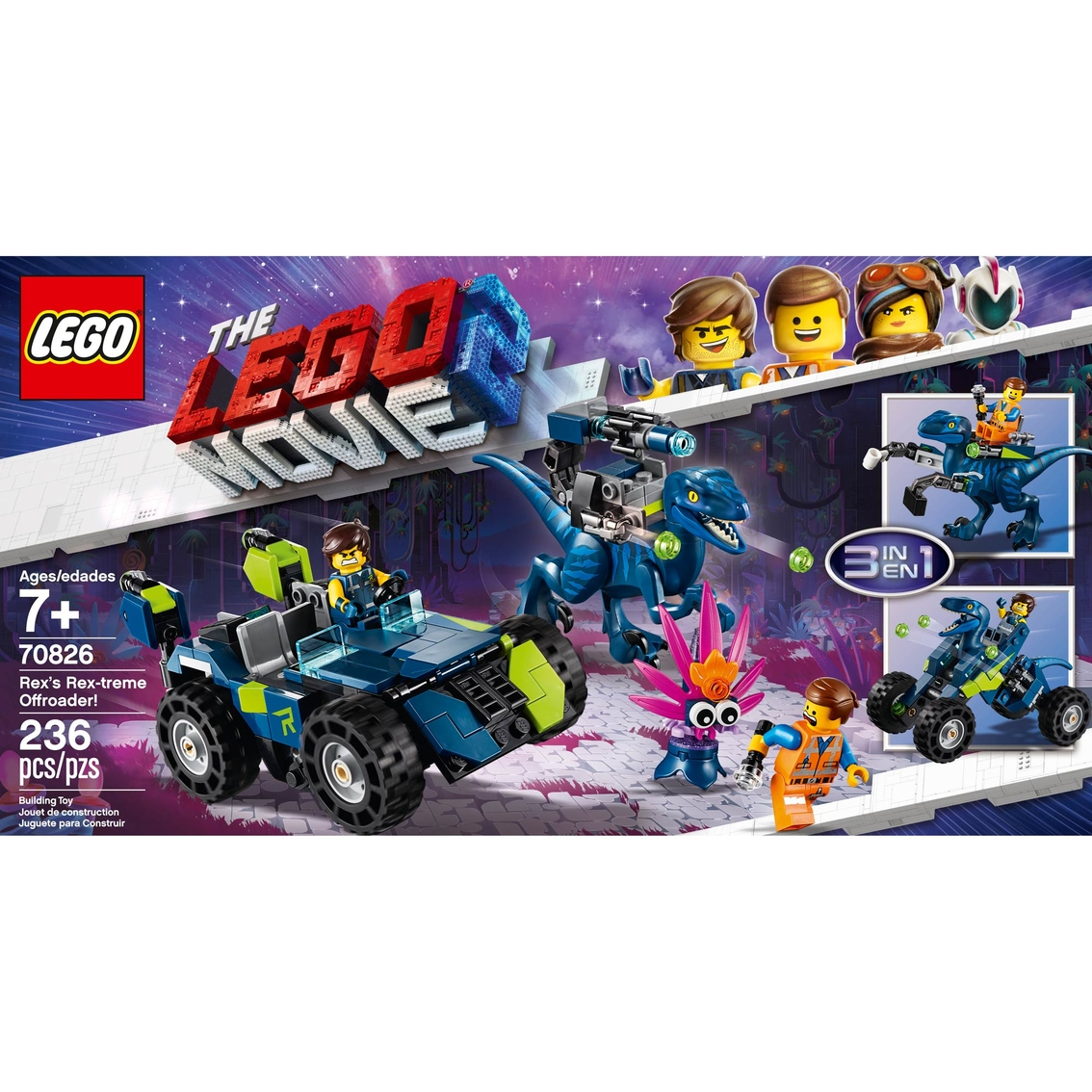Lego The Lego Movie 2 Rex S Rextreme Offroader Building Toys Baby Toys Shop The Exchange