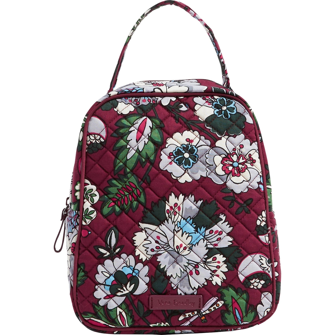 Vera Bradley Iconic Lunch Bunch Bordeaux Blooms By