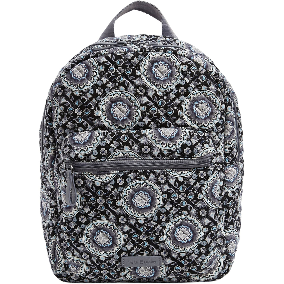 ef712fb24 Vera Bradley Iconic Leighton Backpack Charcoal Medallion | Backpacks ...