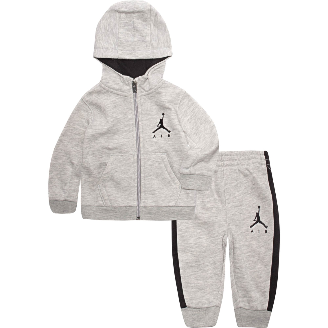 550f71af6dec Jordan Infant Boys 2 Pc. Suede French Terry Hoodie And Pants Set ...