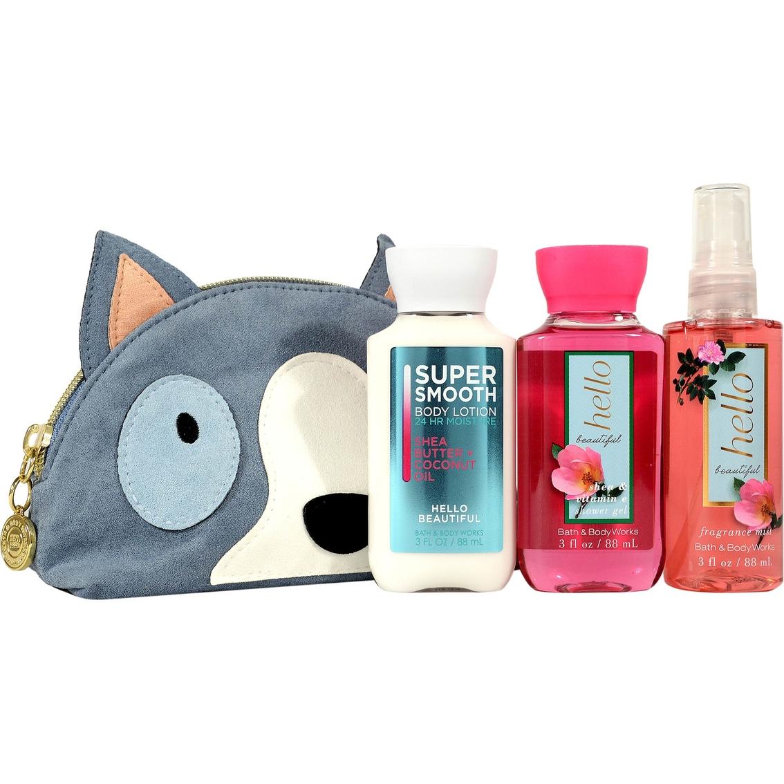 Bath Amp Body Works Hello Beautiful Mini Cosmetic Bag Gift
