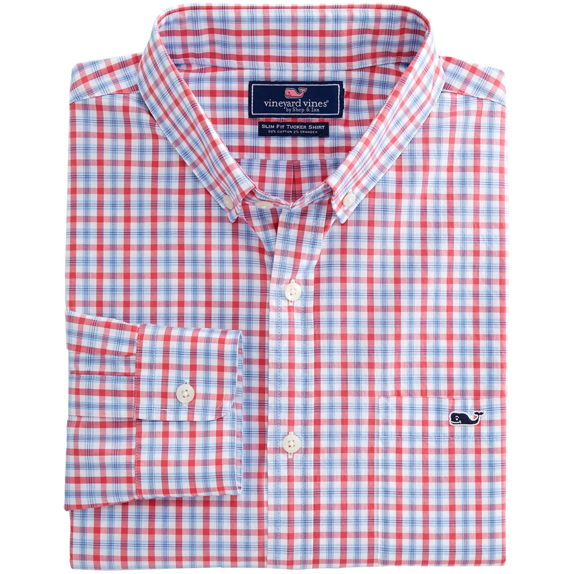 2e6c2debf Vineyard Vines Harborside Plaid Slim Tucker Button Down Shirt ...