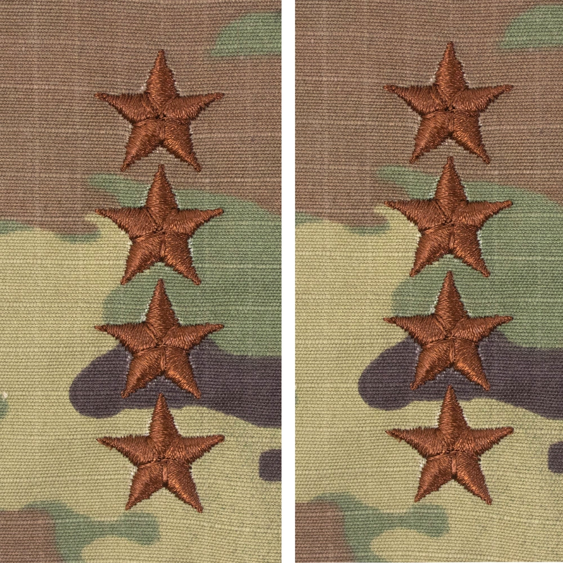 Air Force Officer General Pt-ct 1 In  Sew-on O-10 (ocp