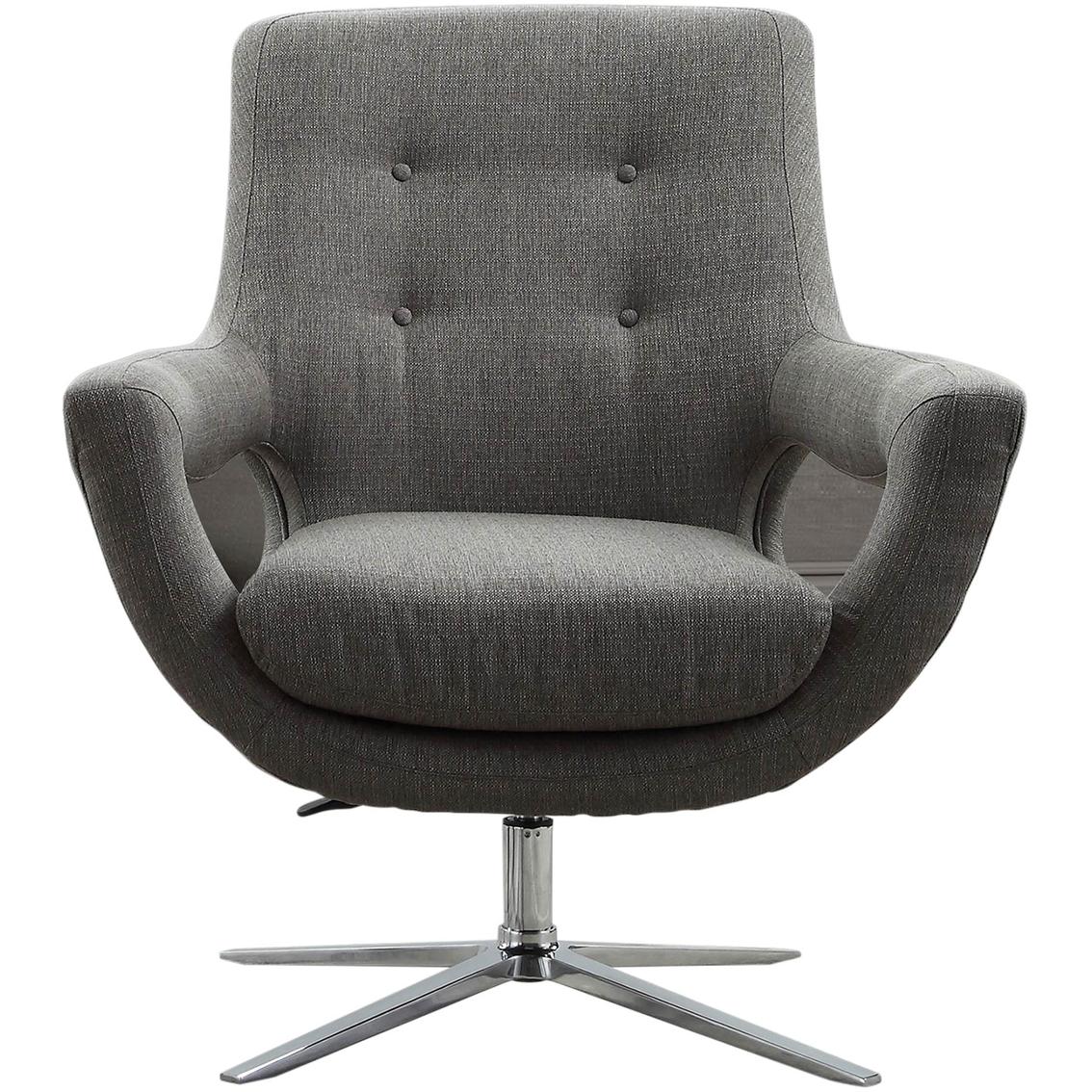 Astounding Armen Living Quinn Adjustable Swivel Chair Chairs Cjindustries Chair Design For Home Cjindustriesco