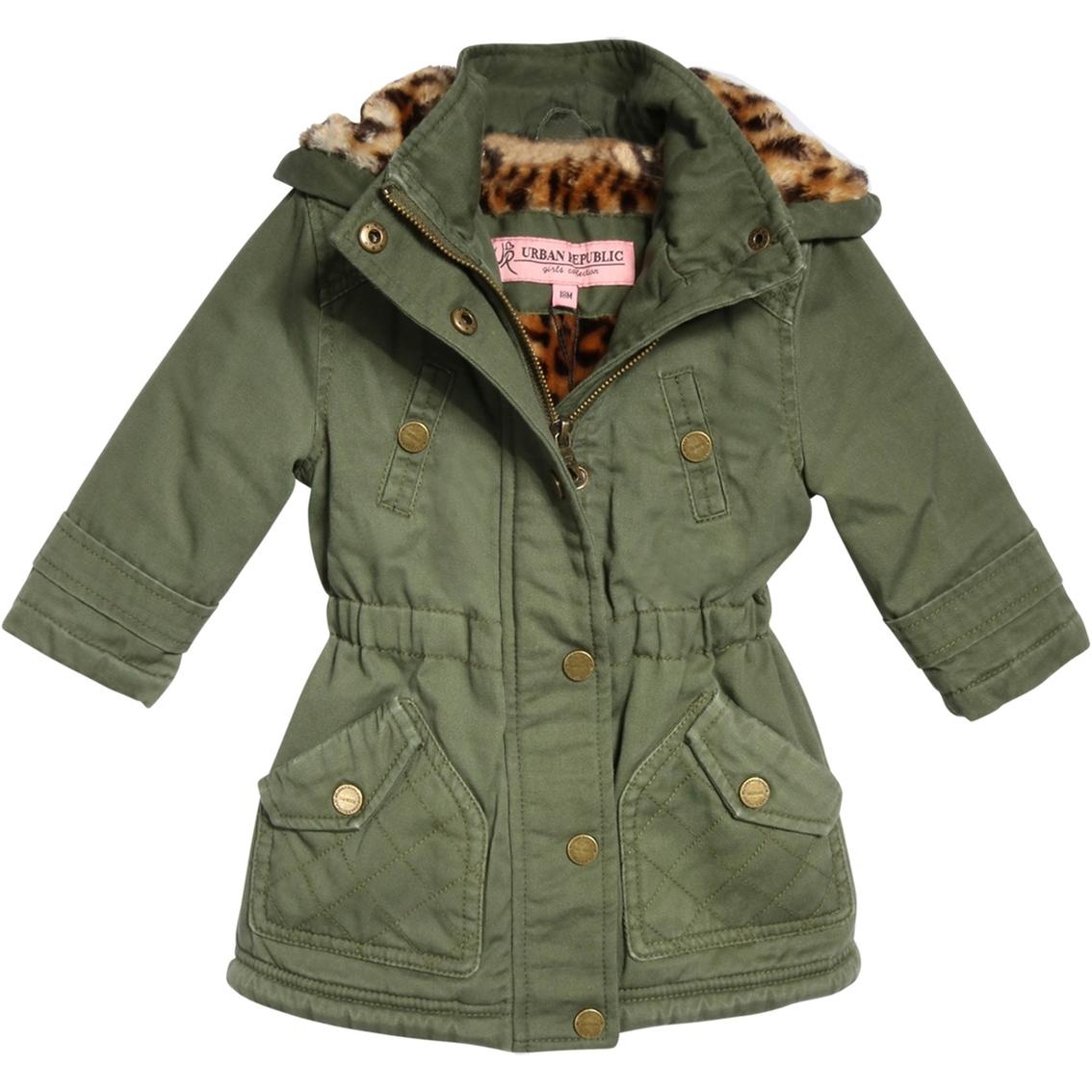 98b3a80d0f6 Urban Republic Girls Cotton Twill Jacket