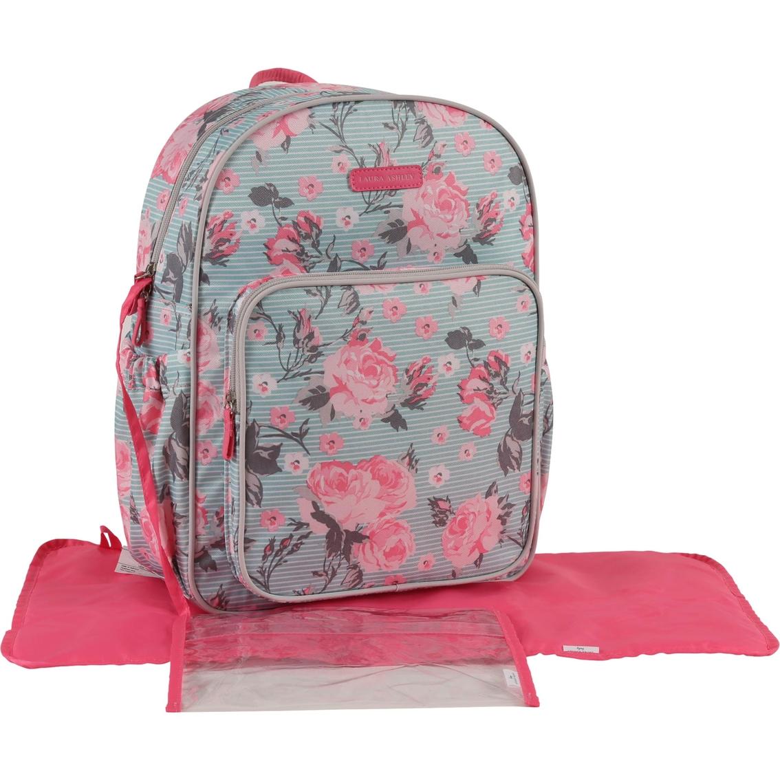 ceca91d6603 Laura Ashley Backpack Diaper Bag