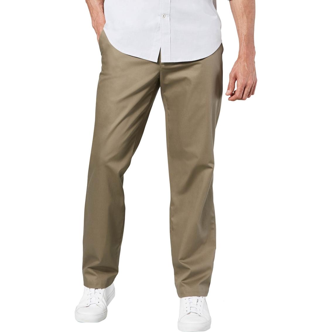 6581cc7f9e0982 Dockers Straight Fit Signature Khaki Lux Cotton Stretch Pants ...
