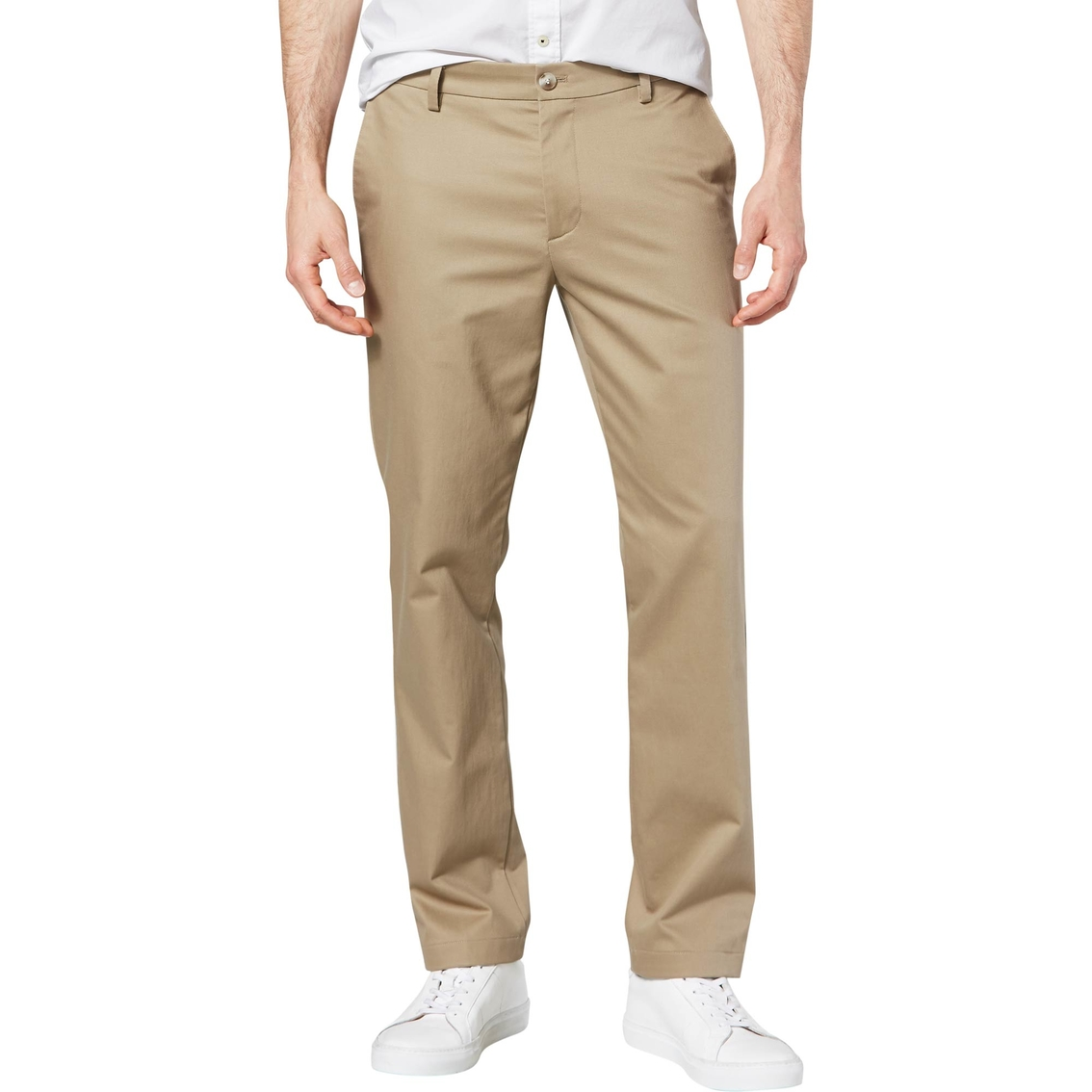 3e0f81cf680404 Dockers Slim Fit Signature Khaki Lux Cotton Stretch Pants | Pants ...