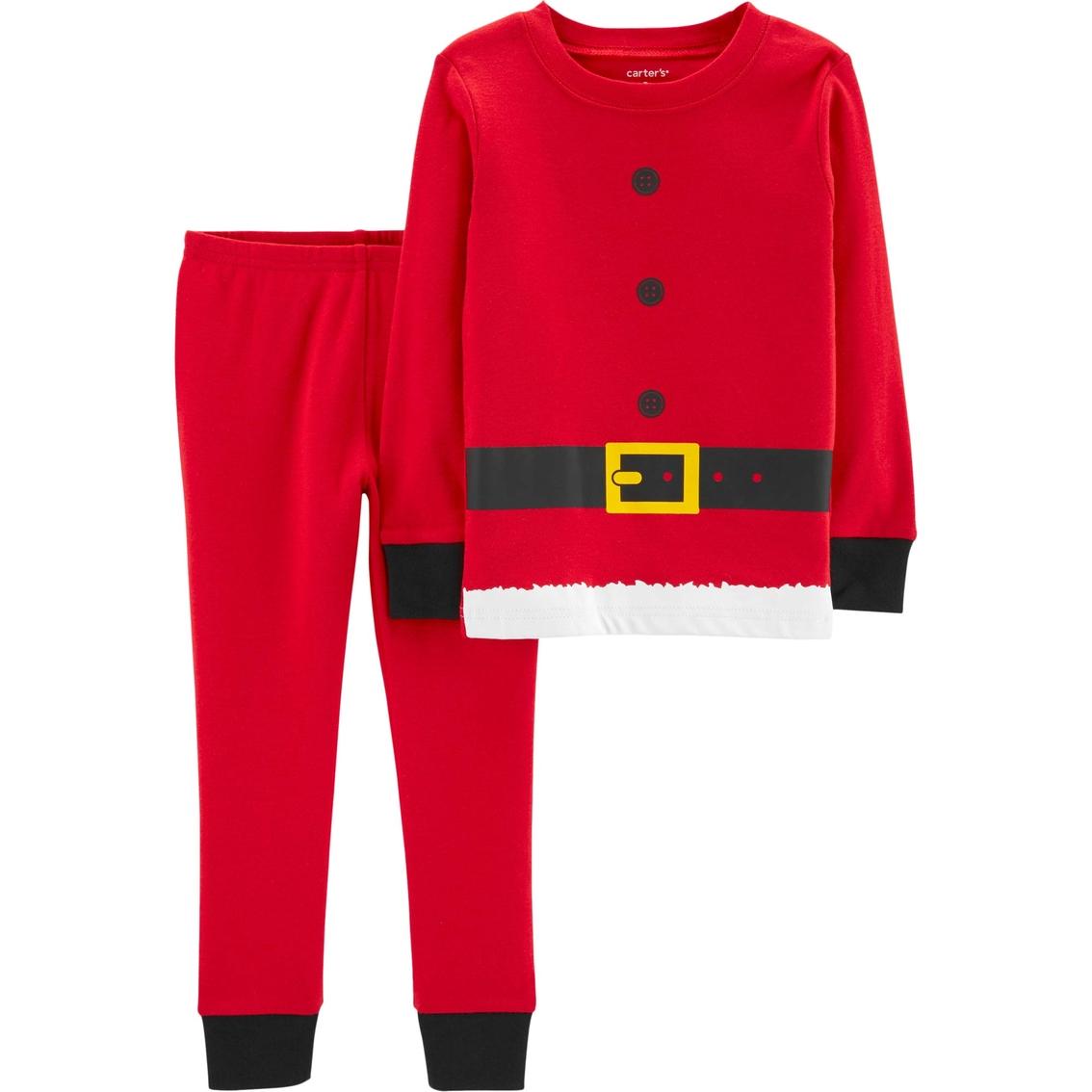 7a577d18039a Carter s Infant Boys 2 Pc. Santa Suit Pajama Set