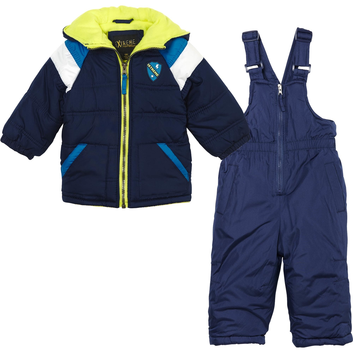 cb2afb30b Ixtreme Infant Boy Colorblock Snowsuit | Baby Boy 0-24 Months | Baby ...