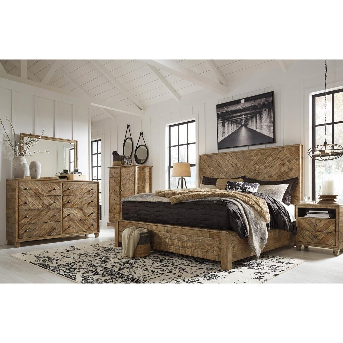Signature design by ashley grindleburg 5 pc panel bed set - Bedroom furniture set online shopping ...