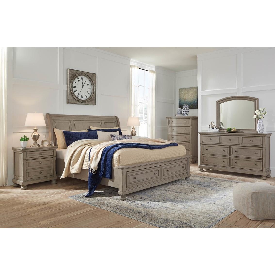 Signature Design By Ashley Lettner Storage Bed 5 Pc. Set ...