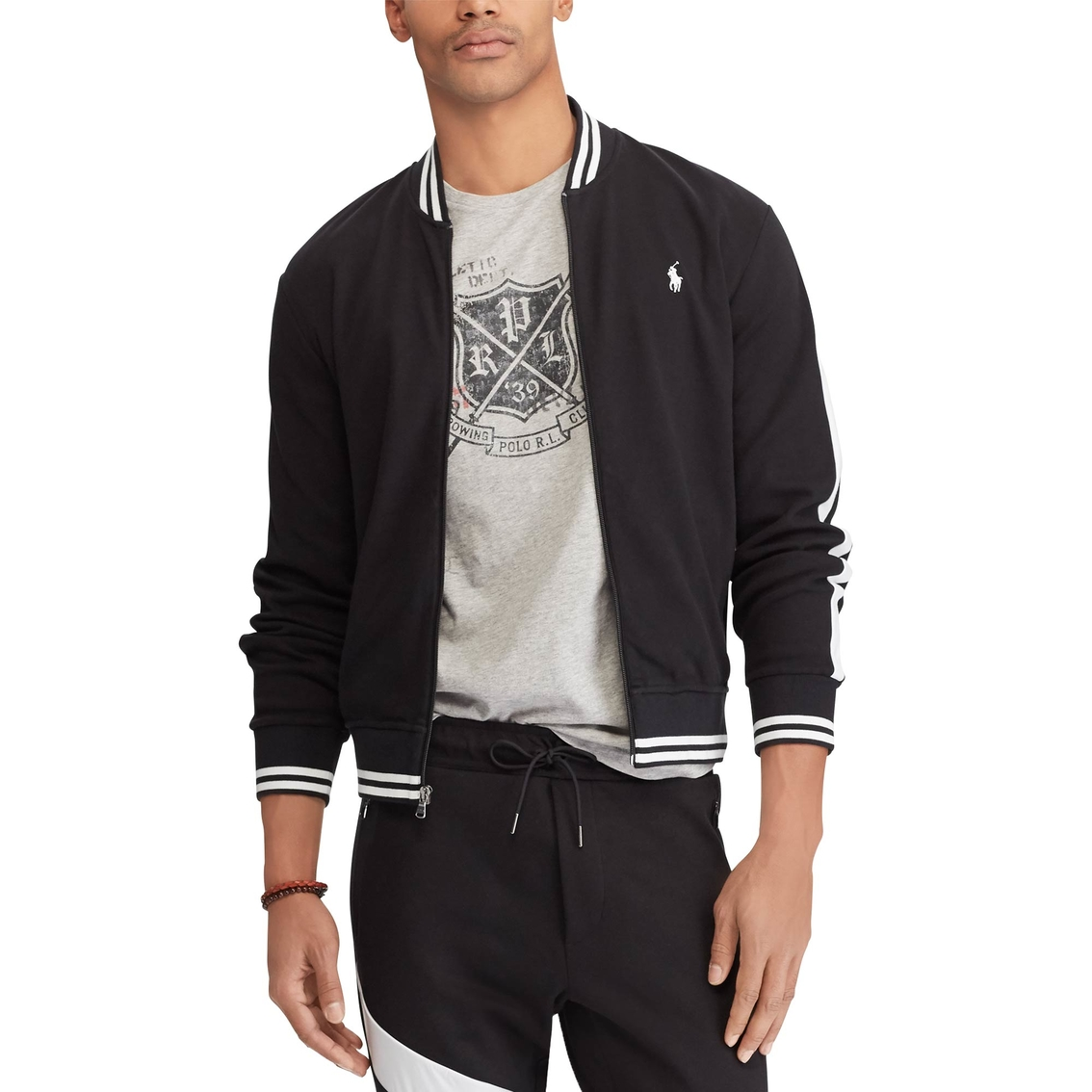 Polo Ralph Lauren Cotton Baseball Jacket   Jackets   Apparel   Shop ... c9388c3ed03e
