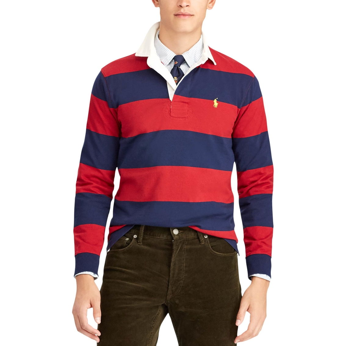 Polo Ralph Lauren The Iconic Rugby Shirt   Polos   Apparel   Shop ... 6d2953eab18