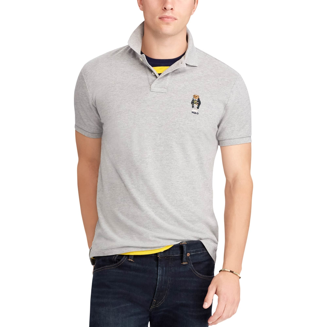 Polo Ralph Lauren Classic Fit Bear Polo Shirt   Polos   Apparel ... 5dbce298c4e