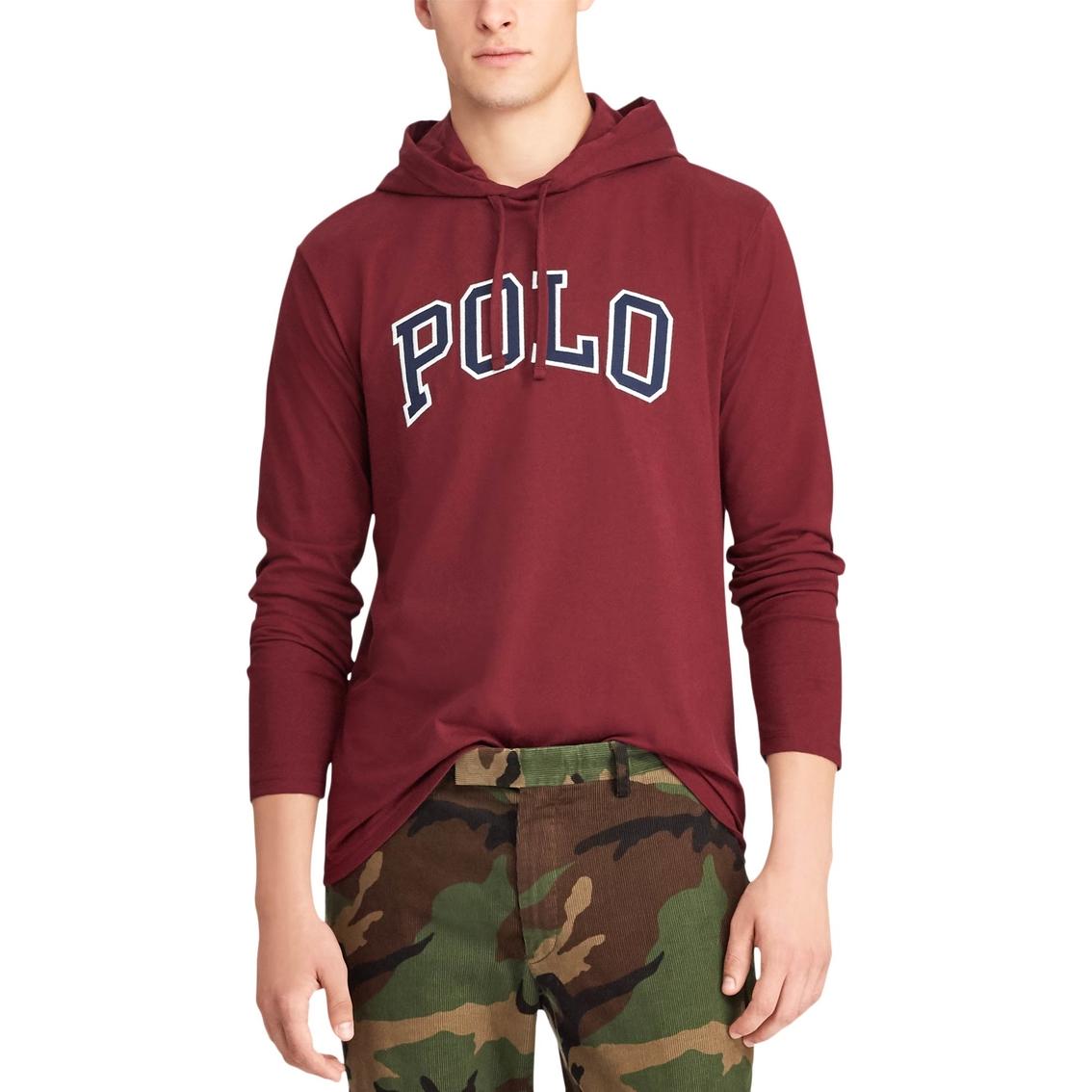 404c78868a5 Polo Ralph Lauren Cotton Jersey Hooded Tee | T-shirts | Apparel ...