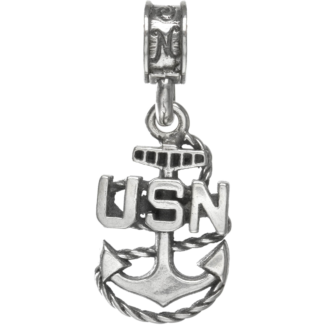 Beautiful Sterling silver 925 sterling Sterling Silver Anchor Charm
