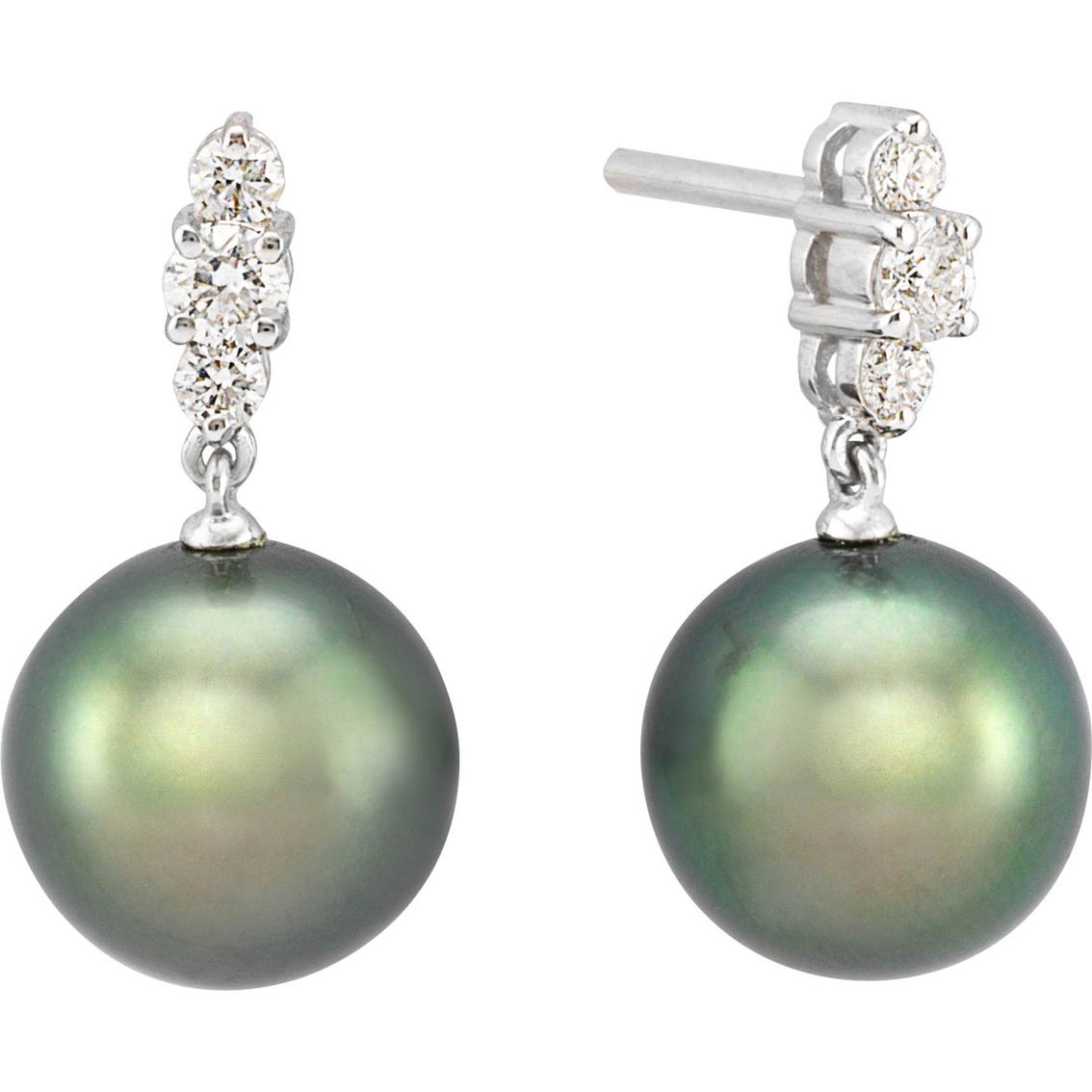 drop earrings mikimoto pearl sku classic akoya