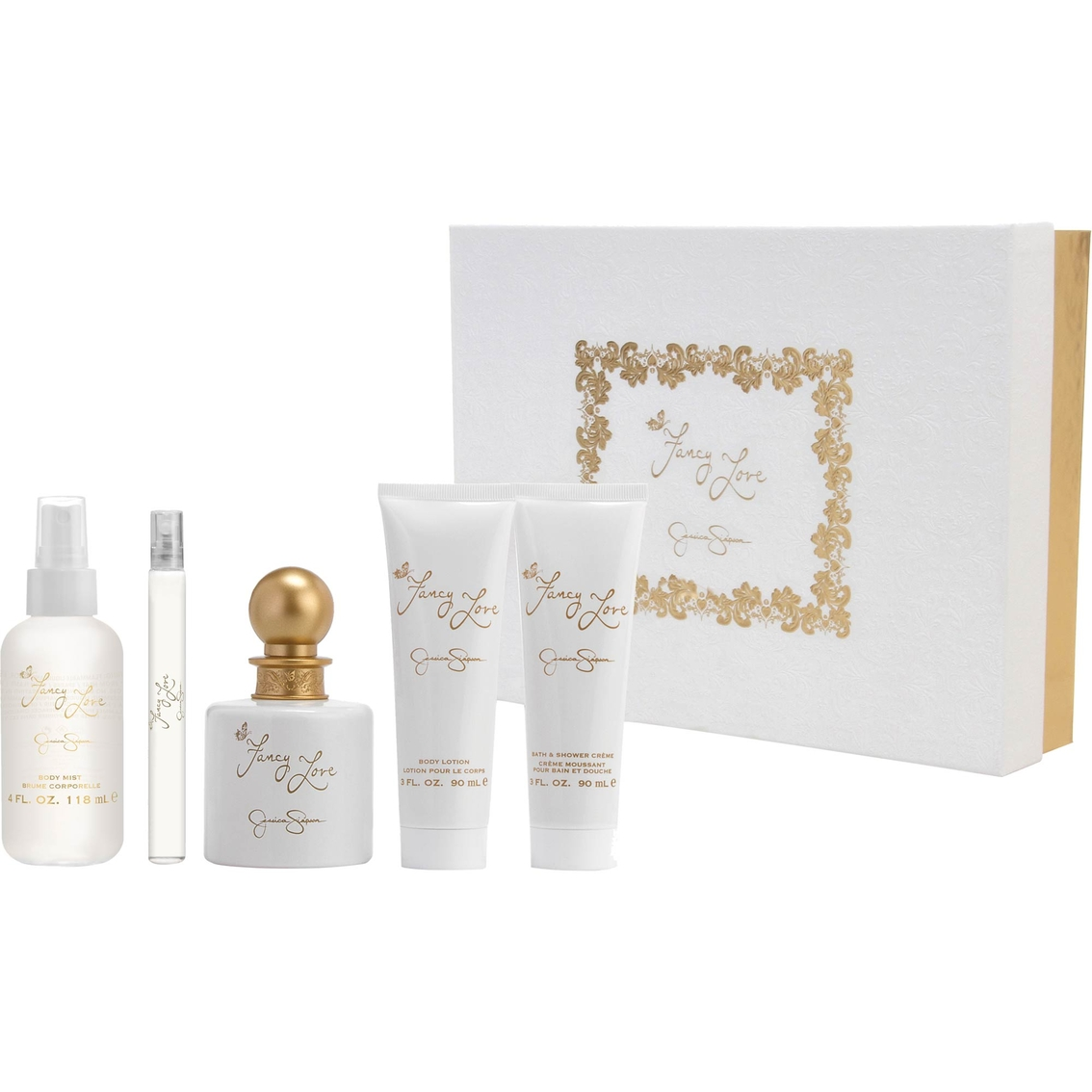 ee4cbd7f21e Jessica Simpson Fancy Love 5 Pc. Gift Set