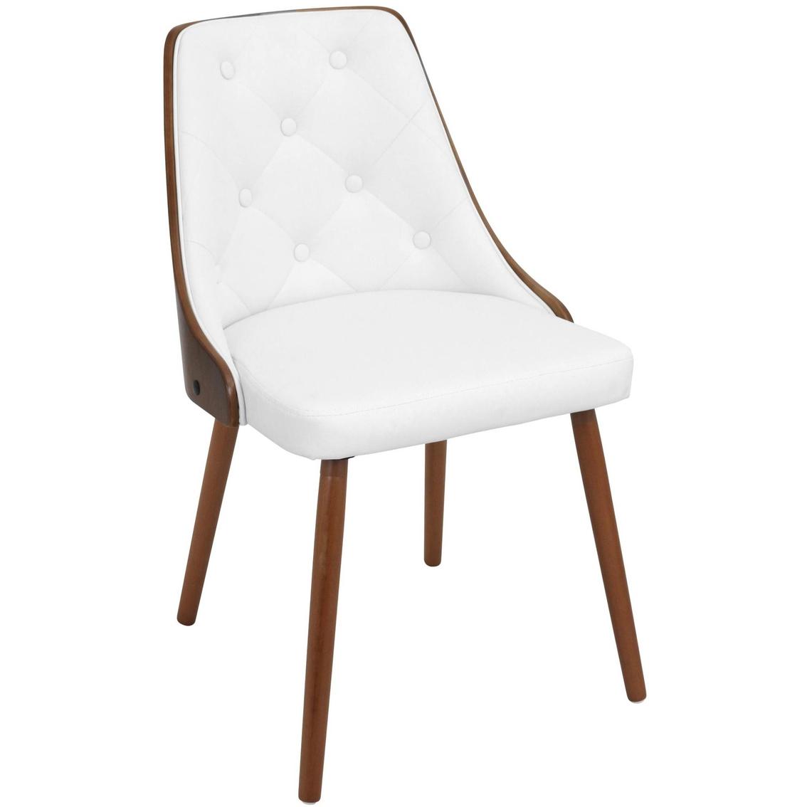 Groovy Lumisource Gianna Mid Century Modern Dining Accent Chair Cjindustries Chair Design For Home Cjindustriesco