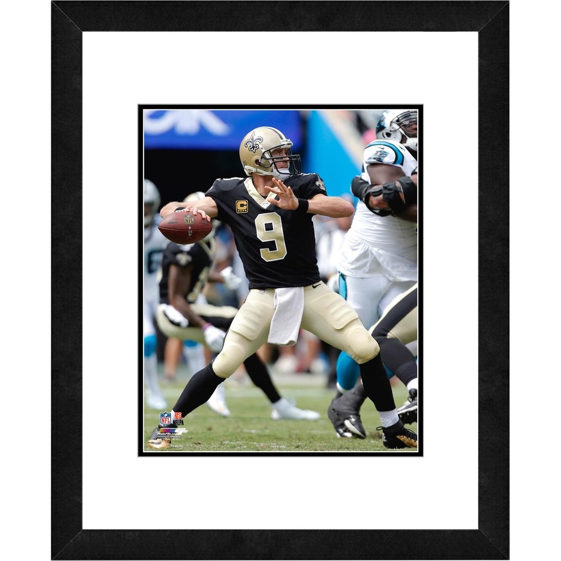 Nfl New Orleans Saints Drew Brees Framed Photo Nfl Fan