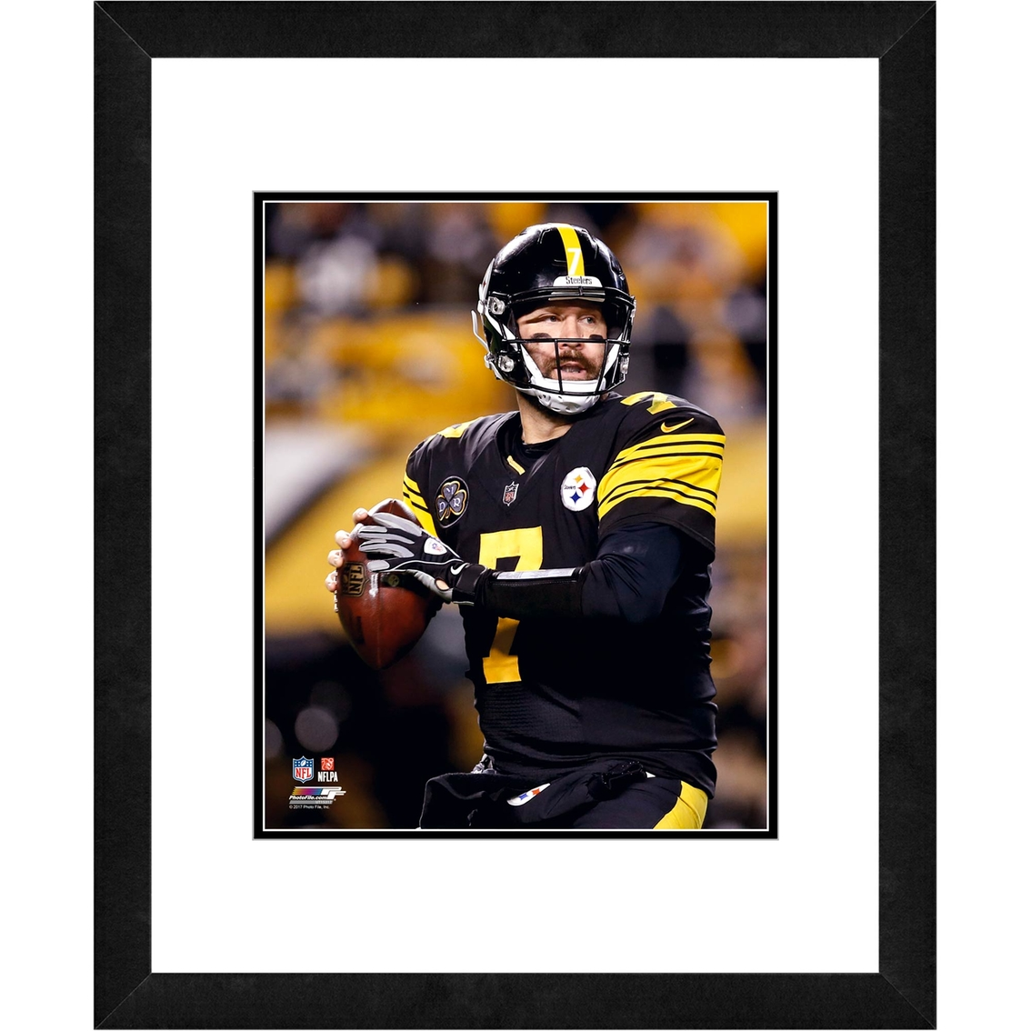 info for adf69 82b53 Nfl Pittsburgh Steelers Ben Roethlisberger Framed Photo ...