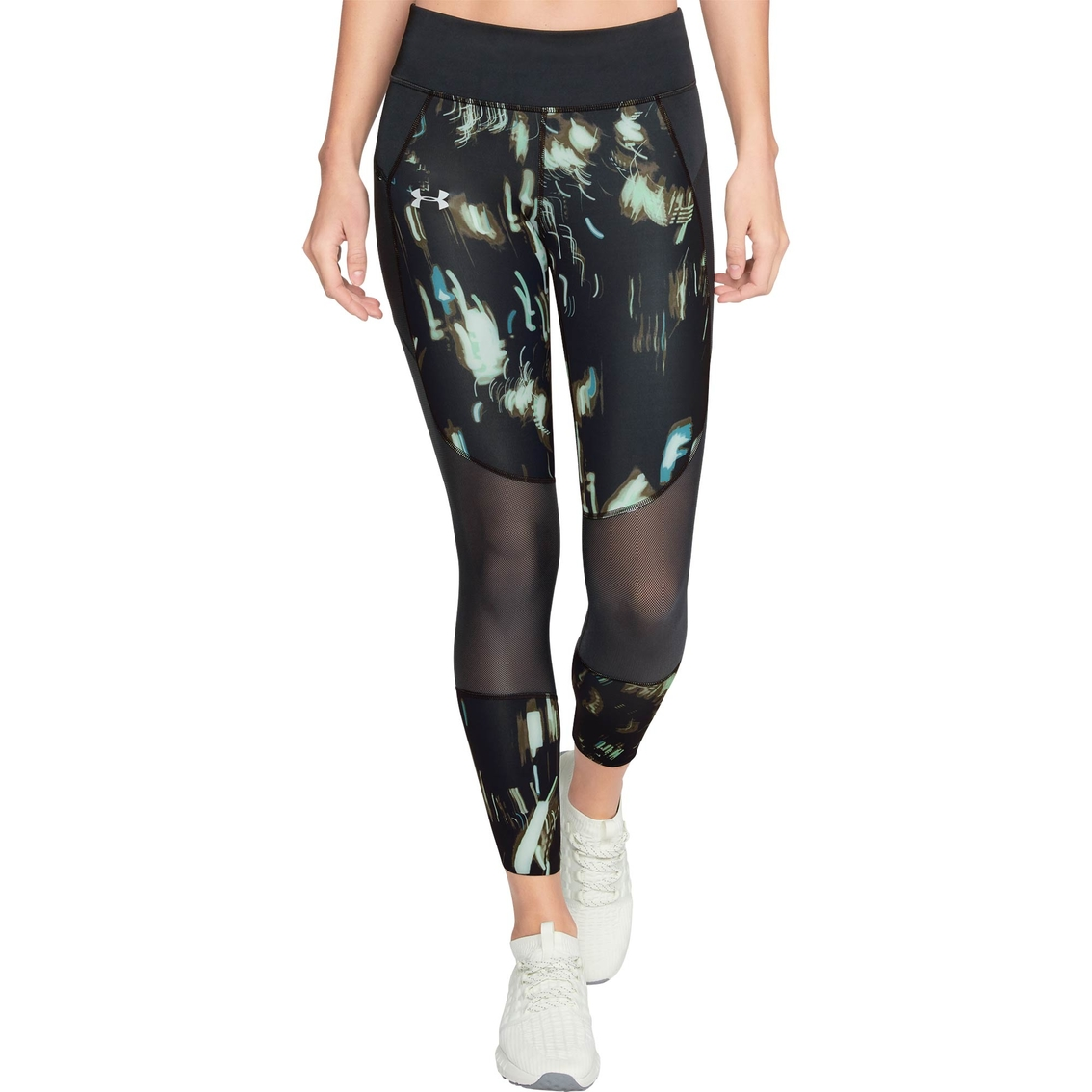 Camino armario factor  Under Armour Speedpocket Printed Run Crop Pants   Pants & Capris   Clothing  & Accessories   Shop The Exchange