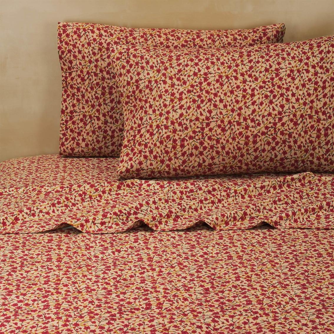 Cotton Mizu Print Sheet Set Sheets Home Appliances Shop - Orange print sheets
