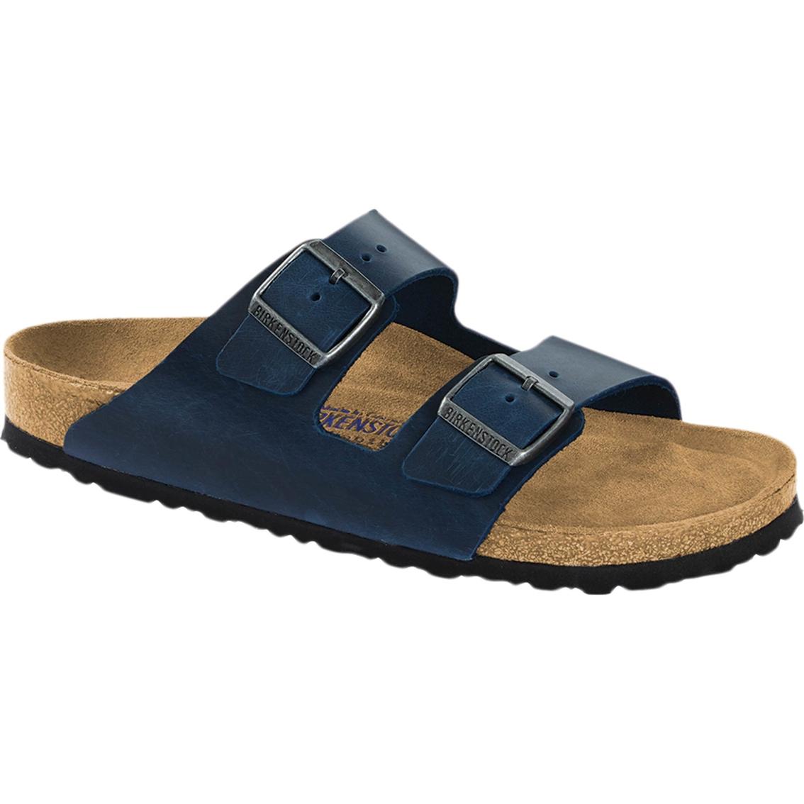Birkenstock Women S Arizona Oiled Sandals Flats Shoes Shop The
