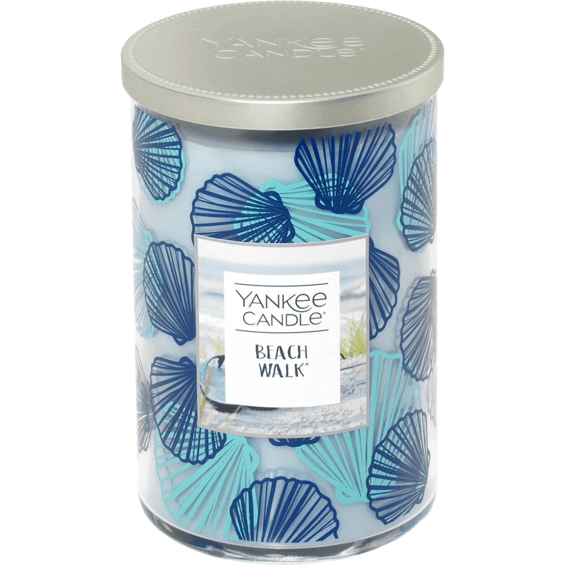 Yankee Candle Seashell Beach Walk Scent 2 Wick Tumbler Candle, Large