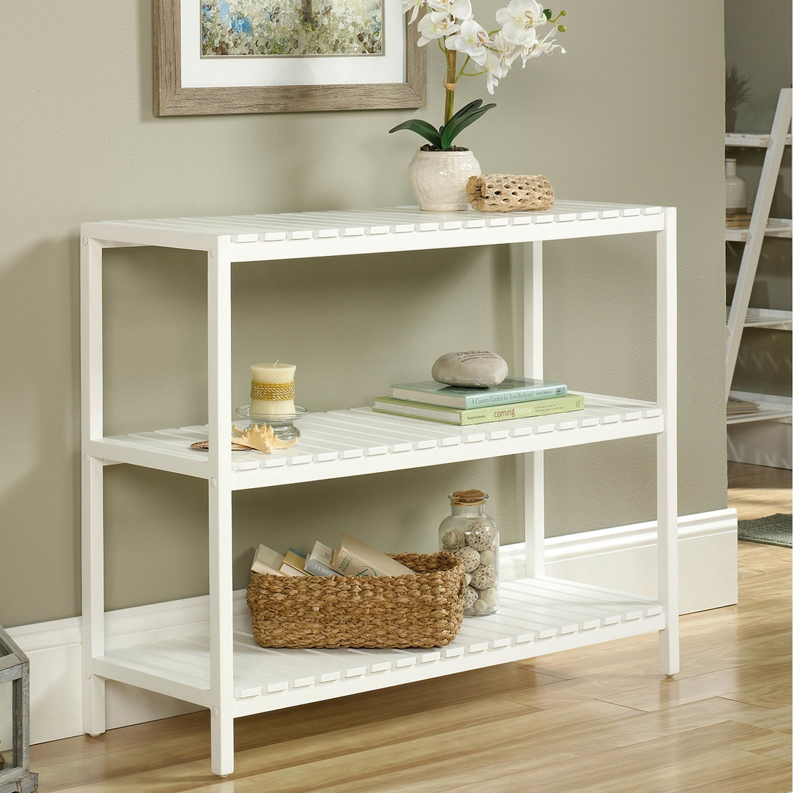 Prime Sauder Cottage Road Console Entry Furniture Home Ncnpc Chair Design For Home Ncnpcorg