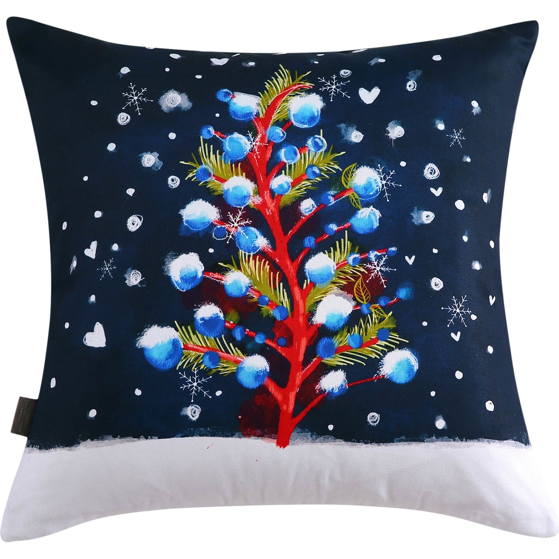 sara b christmas tree 20 in decorative pillow