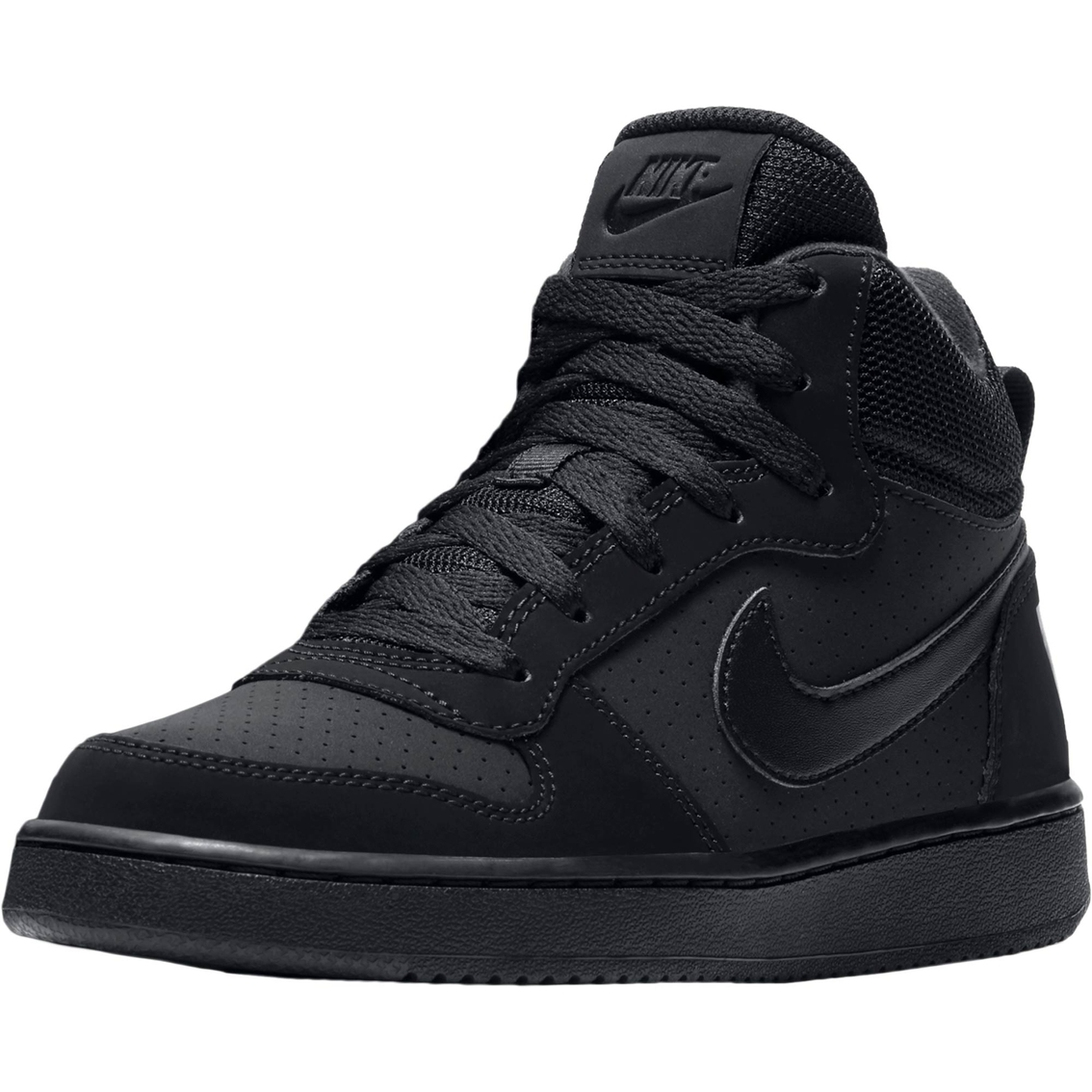 Nike Grade School Boys Court Borough Mid Basketball Shoes