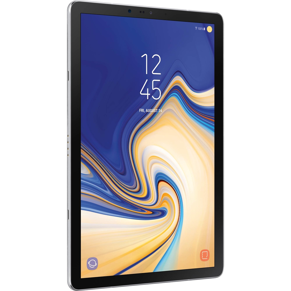 Samsung Galaxy Tab S4 10 5 In  Tablet With Keyboard Book