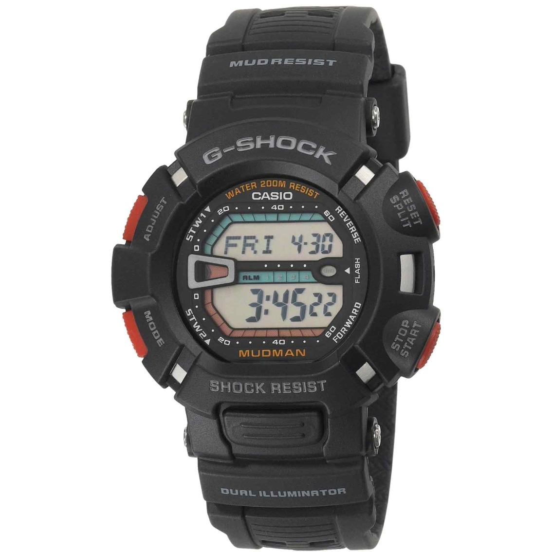 Casio Men S G Shock Mudman Digital Sports Watch Non Metal