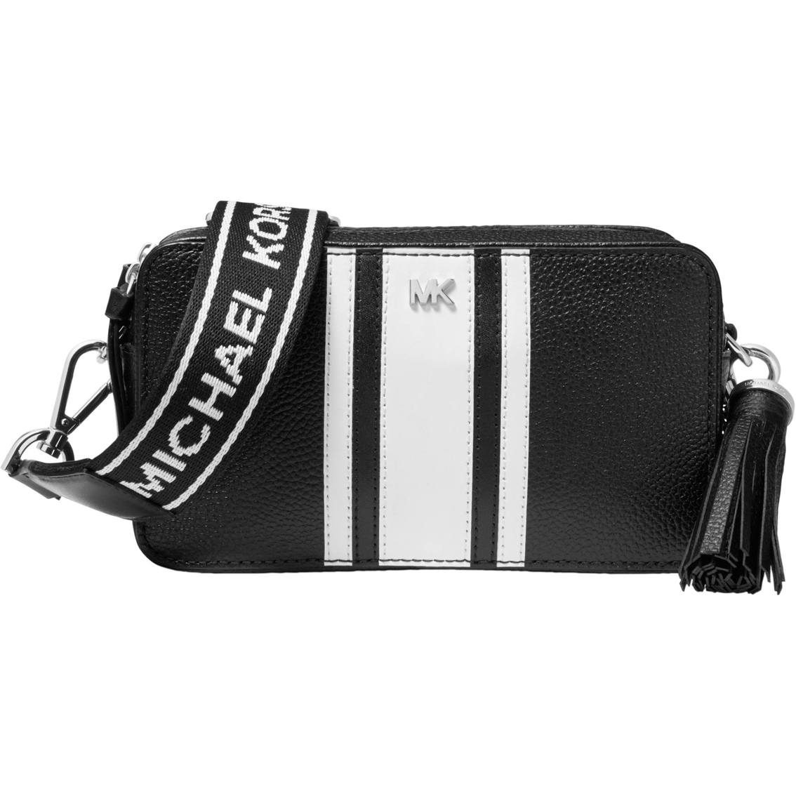 913542b96 Michael Kors Small Logo Tape Crossbody Camera Bag | Crossbody Bags ...