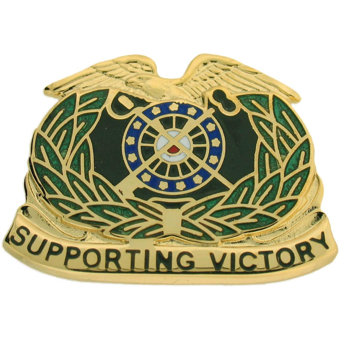 Army Quartermaster Corps (qm) Regimental Crest ...