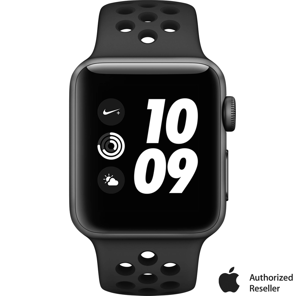 Pacer estar impresionado Visible  Apple Watch Nike+ Series 3 Gps Aluminum Case With Anthracite/black Nike  Sport Band | Apple Watches | Electronics | Shop The Exchange