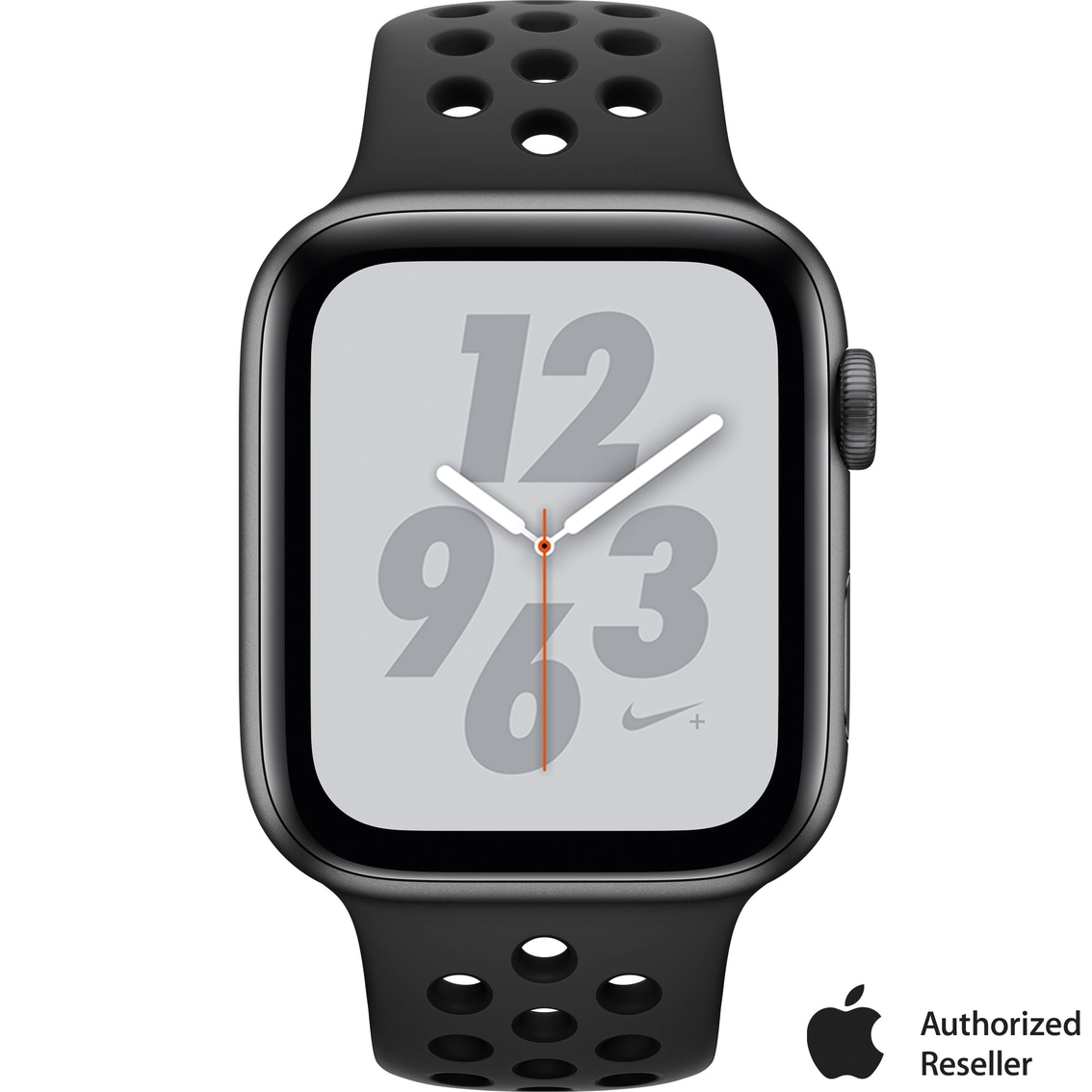 833a118801e84 Apple Watch Nike+ Series 4 GPS + Cellular Aluminum Case with Black Nike Sport  Band